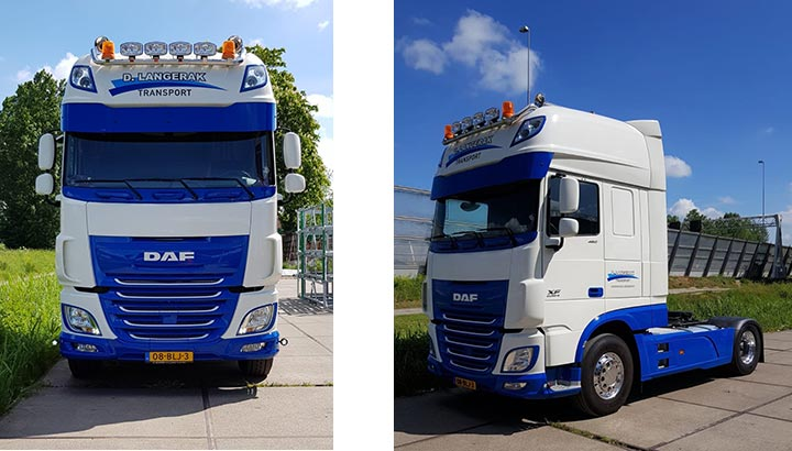 Nieuwe DAF XF voor D. Langerak Transport