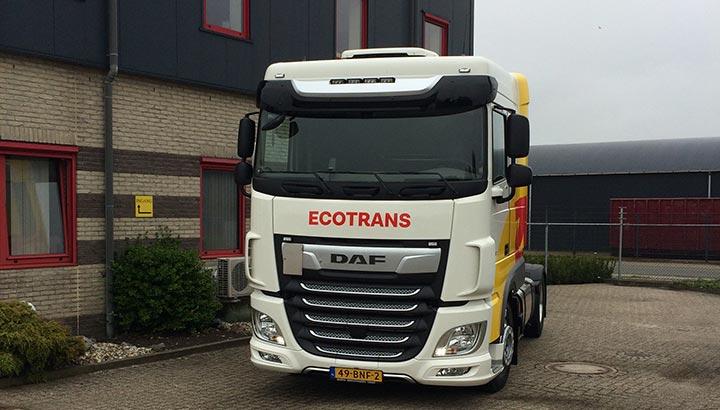 Nieuwe DAF FT XF voor Ecotrans