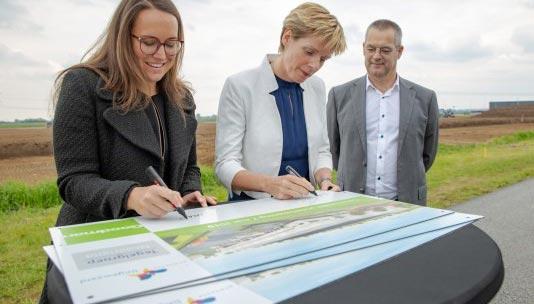 Goodman Group bouwt nieuw dc voor Tegelgroep in Bemmel