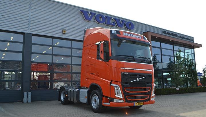 Nieuwe Volvo FH voor Hubers Logistic