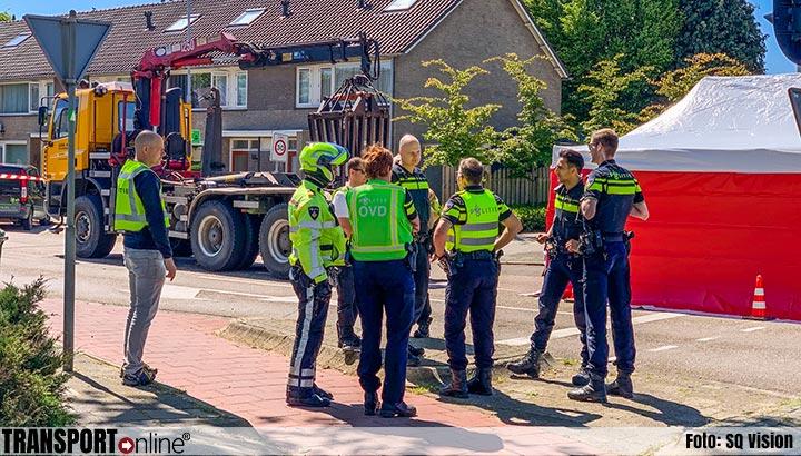 Fietsster om het leven gekomen na aanrijding met vrachtwagen [+foto]