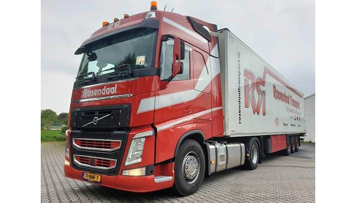 Nieuwe Volvo FH trekker voor Rosendaal Transport Beek BV