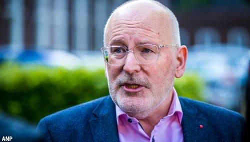 Asscher: kabinet moet Frans Timmermans voordragen