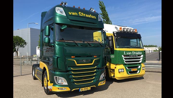 Nieuwe DAF voor L. van Straaten Transport