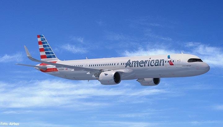 Airbus sleept grote order van American Airlines binnen