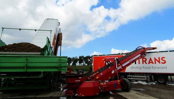 Farm Trans start Bordeaux-traject en haalt met de koeltrailer de aardappel naar de Benelux