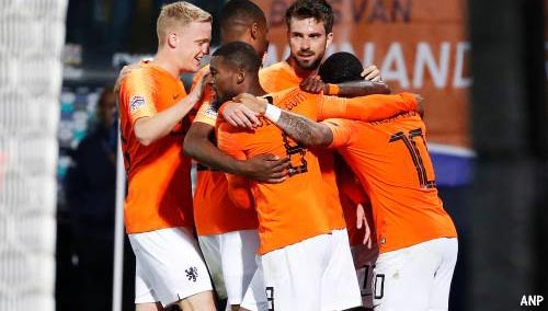 Oranje tegen Portugal in finale Nations League