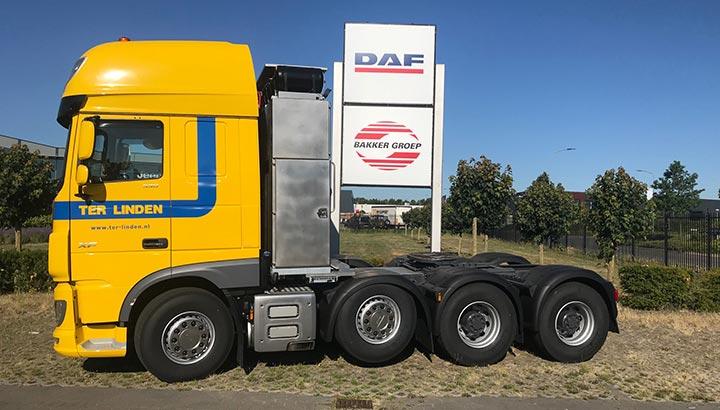 Nieuwe DAF XF voor Ter Linden Transport