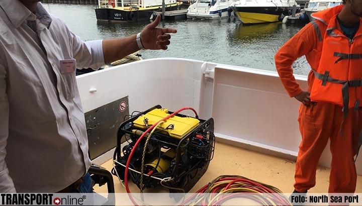 North Sea Port doet proef met onderwaterrobot van Asset.Insight. voor inspectie van kades