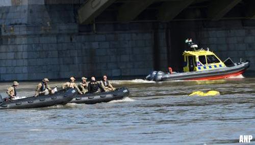 Twee vermisten scheepsramp Donau gevonden