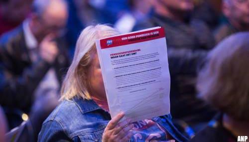 FNV stemt in met het pensioenakkoord