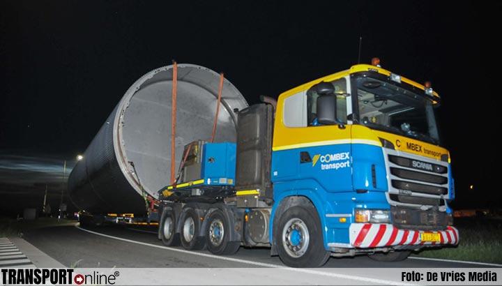 Zwaar transport moet urenlang wachten door dodelijk ongeval N381 [+foto]