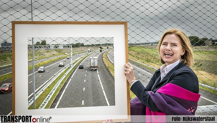 Nieuwe verbrede A6 jaar eerder open dan gepland
