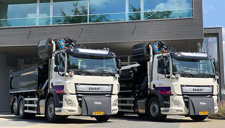 Twee nieuwe DAF FAN CF's voor Gemeente Bronckhorst