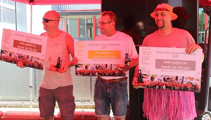 HeftruckCup 2019 gewonnen door Tonny Koster van Scelta Products B.V.