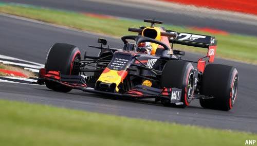 Max Verstappen vijfde in laatste vrije training op Silverstone