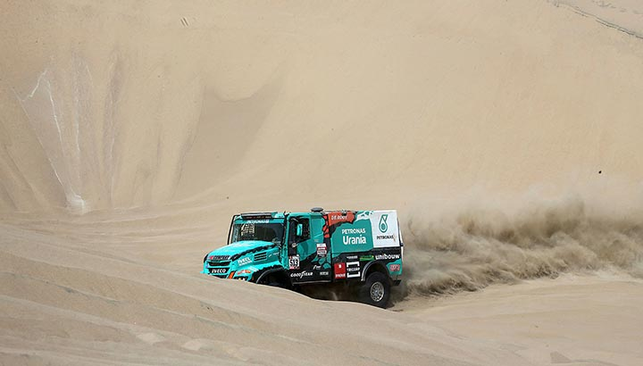 Van Kasteren en Becx met Team De Rooy naar Dakar Rally