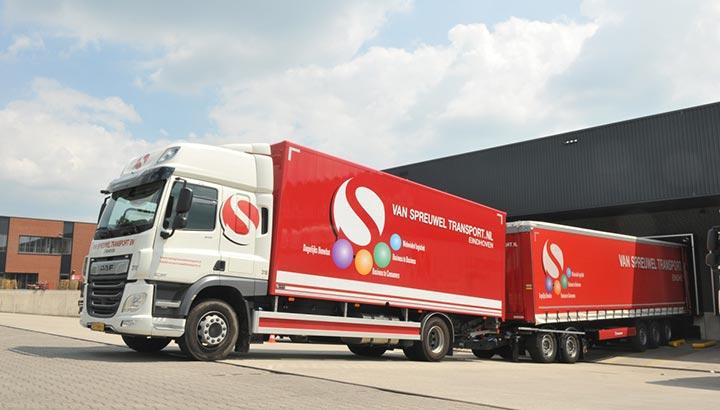 Nieuwe Krone trailers en dolly's voor Van Spreuwel Transport