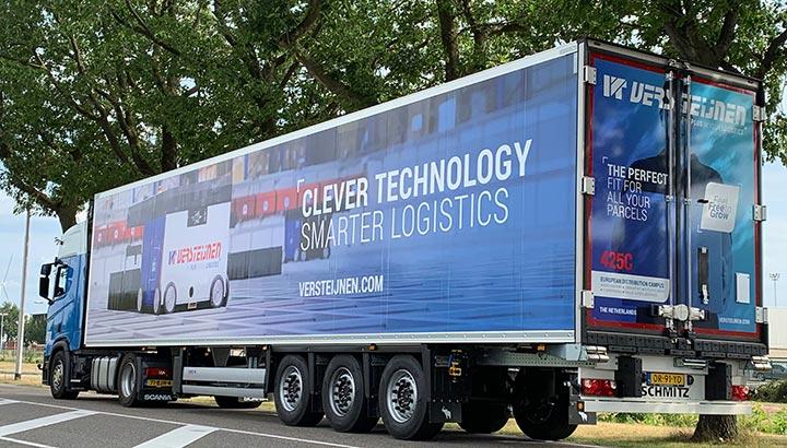 Acht nieuwe DAF's en 17 nieuwe trailers voor Versteijnen Logistics