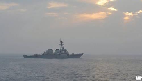 Marineschip VS haalt drone neer in de Straat van Hormuz