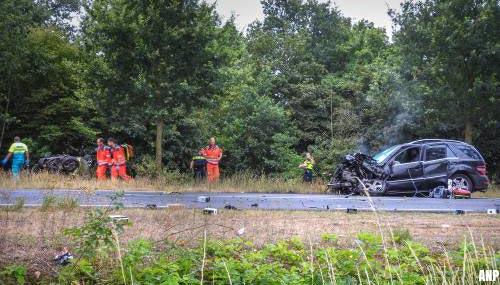 Drie Brabanders omgekomen bij ongeval op N272 in Handel