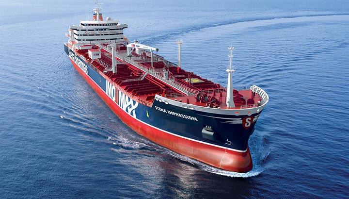 Diplomatieke hulp voor bemanning Britse tanker Stena Impero