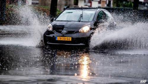 Zware regen leidt tot wateroverlast [+foto's]