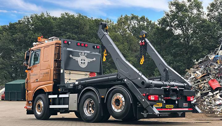 Nieuwe DAF voor Heinhuis recycling