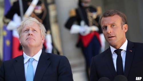 Macron: geen tijd meer voor nieuwe brexitdeal