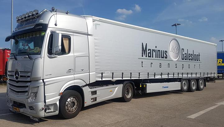 Marinus Galesloot Transport failliet verklaard