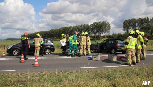 Ernstig ongeval met veel gewonden op N256