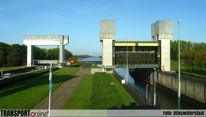 Oostelijke sluiskolk (duwvaartkolk) Prinses Irenesluis zaterdag wegens onderhoud gestremd