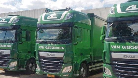 Van Giersbergen Logistics failliet [UPDATE]