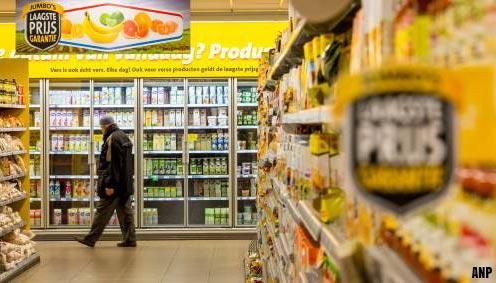 Prijzen A-merken in supermarkt omhoog