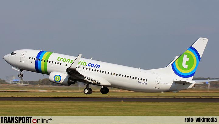 Boeing 737 van Transavia wilde opstijgen vanaf taxibaan Schiphol