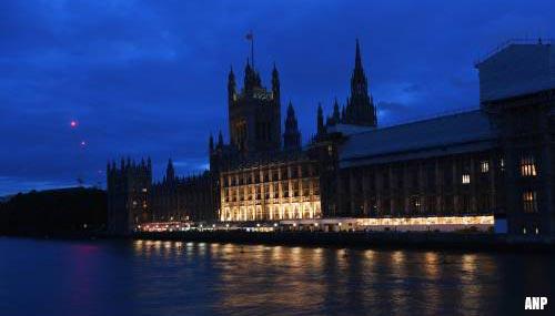 Brits Lagerhuis stemt tegen verkiezingen