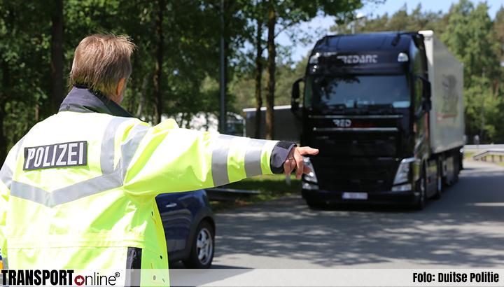 Donderdag grote landelijke vrachtwagencontrole in Duitsland