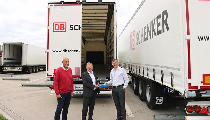 DB Schenker België moderniseert wagenpark met 75 nieuwe trailers