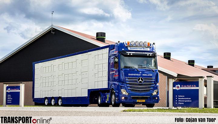 Eerste Mercedes Actros Edition 1 voor Gerwin van Beek
