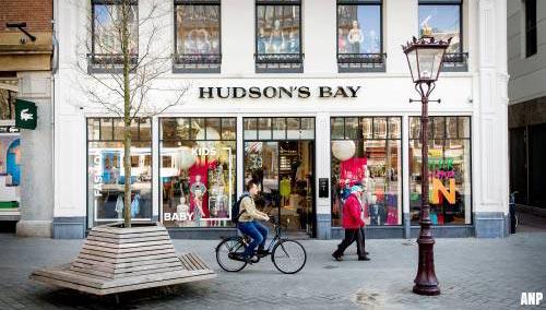 Hudson's Bay voor eind dit jaar uit Nederland