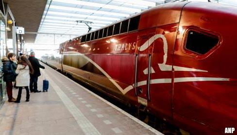 Thalys heeft nieuwe recordzomer achter de rug