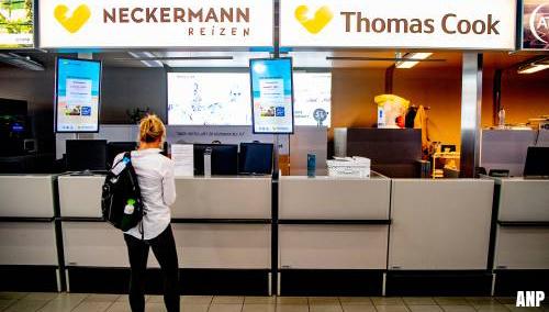 Streep door reizen Thomas Cook en Neckermann