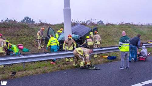Twee doden en drie gewonden bij ongeval op A73
