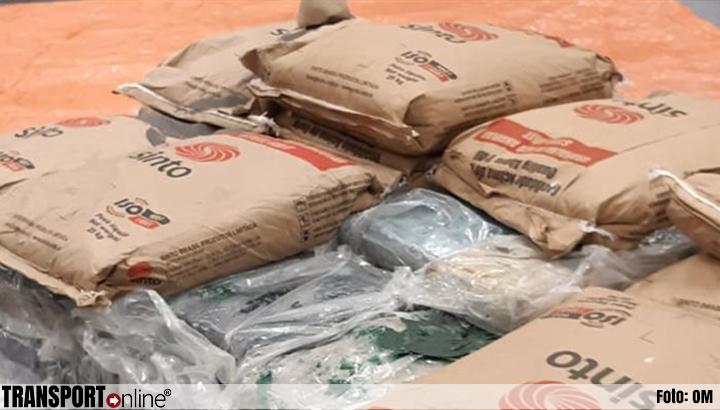 Douane onderschept 450 kilo cocaïne in container in Rotterdamse haven