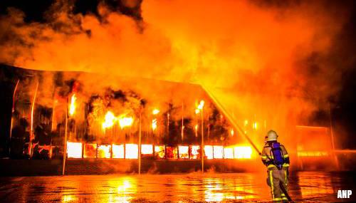 Grote brand op industrieterrein Aalten