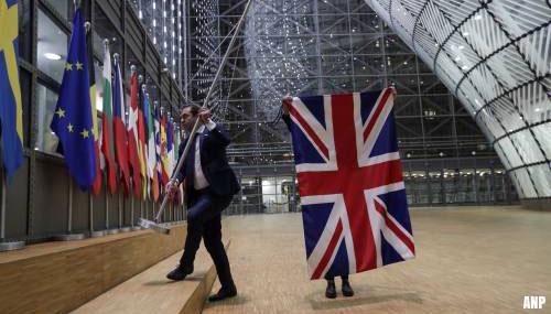 Britse vlaggen gestreken in EU-gebouwen