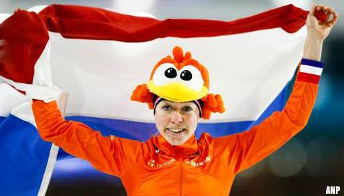 Esmee Visser prolongeert Europese titel op 3000 meter