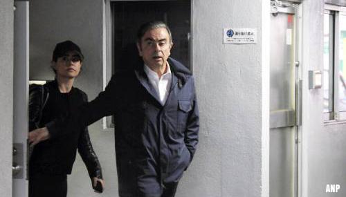 'Ghosn nam de trein voor vlucht uit Tokio'
