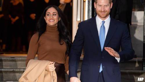 Harry en Meghan doen afstand van koninklijke titels