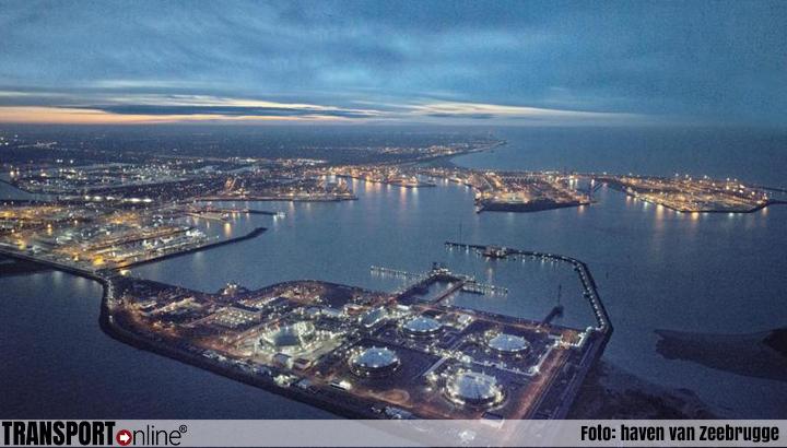 Ruim 14 procent groei voor haven van Zeebrugge